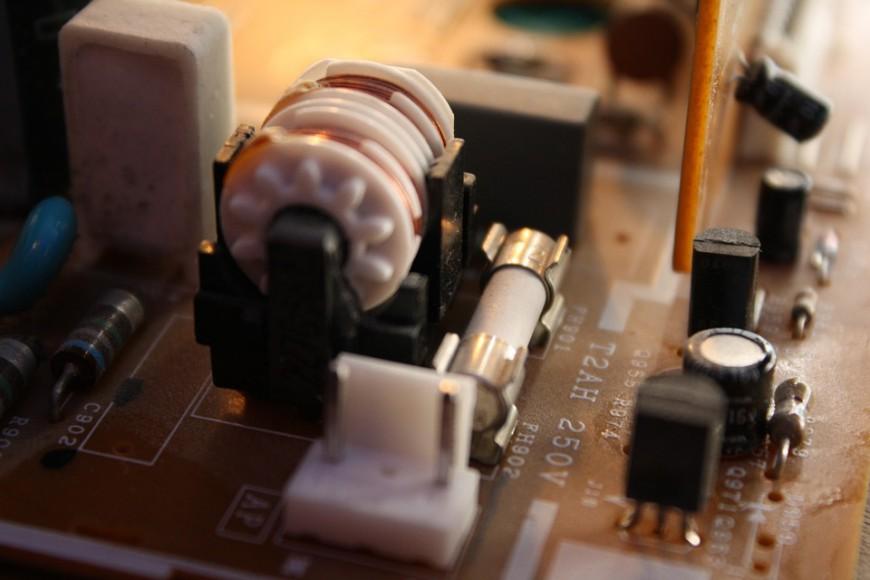 電子部品の在庫について