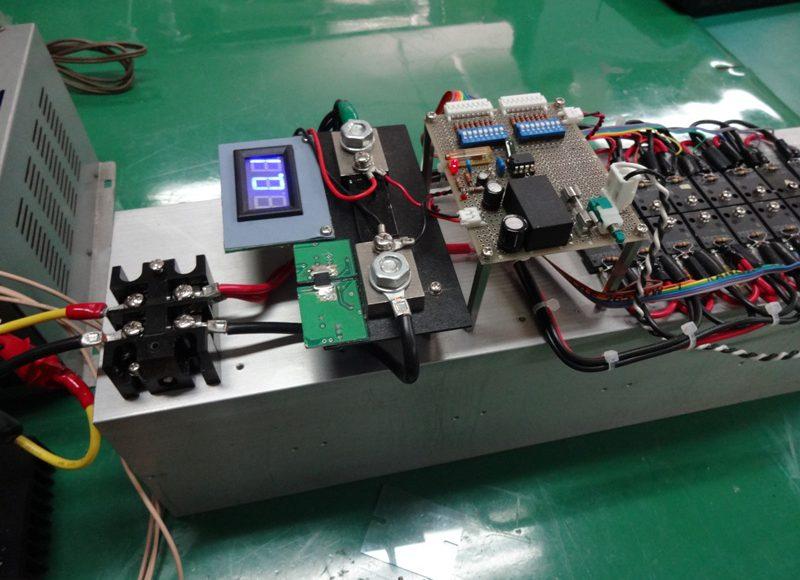 電流可変負荷装置の製作